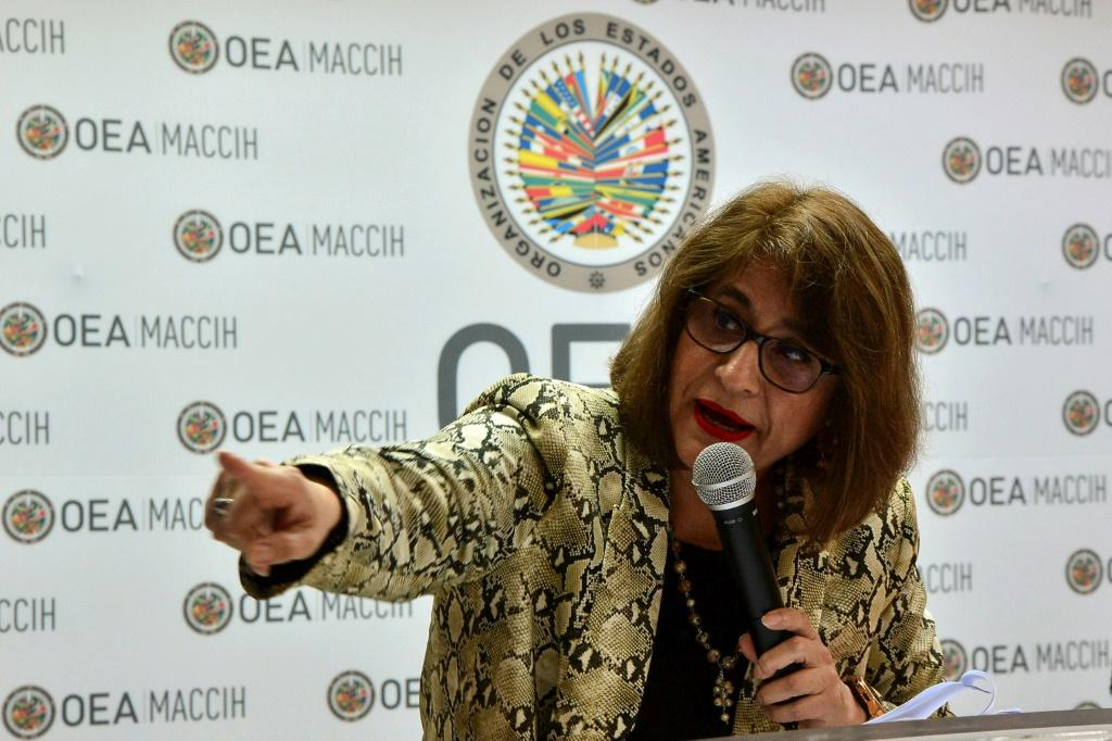 Ana Maria Calderon, head of the OAS Mission to Support the Fight against Corruption and Impunity in Honduras (MACCIH), has resigned