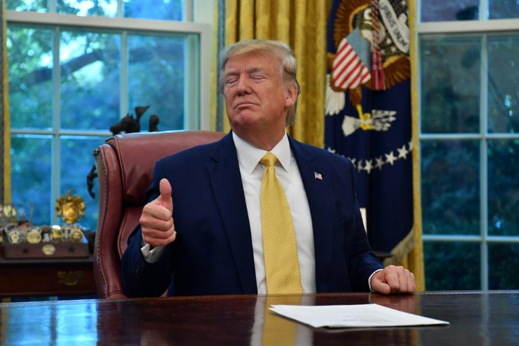 As he is about the face an impeachment trial, US President Donald Trump will be able to tout a trade deal with China