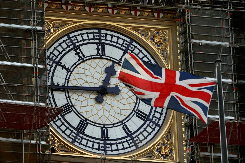 Big Ben is still undergoing renovations -- but Boris Johnson said some public fundraising might be in order to ensure a hearty bong to mark Britain's exit from the EU