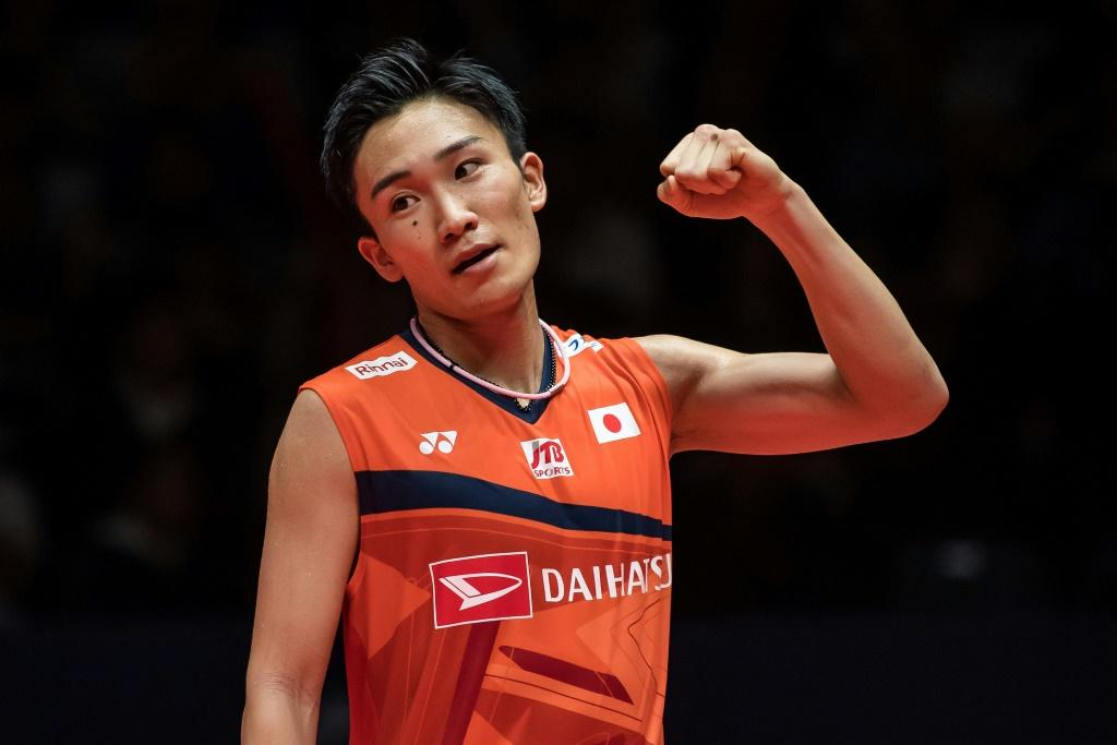Flying home: World number one Kento Momota was discharged from a Malaysian hospital on Wednesday