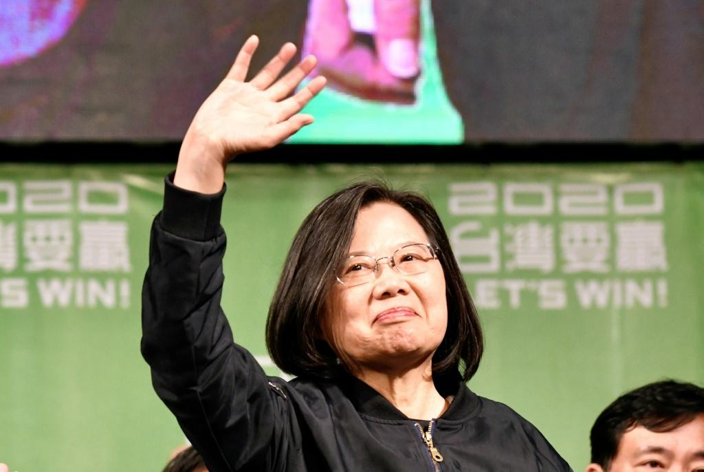 Taiwan's President Tsai Ing-wen won a second term at the weekend with record support -- seen as a forceful rebuke of China's campaign to isolate the self-ruled island