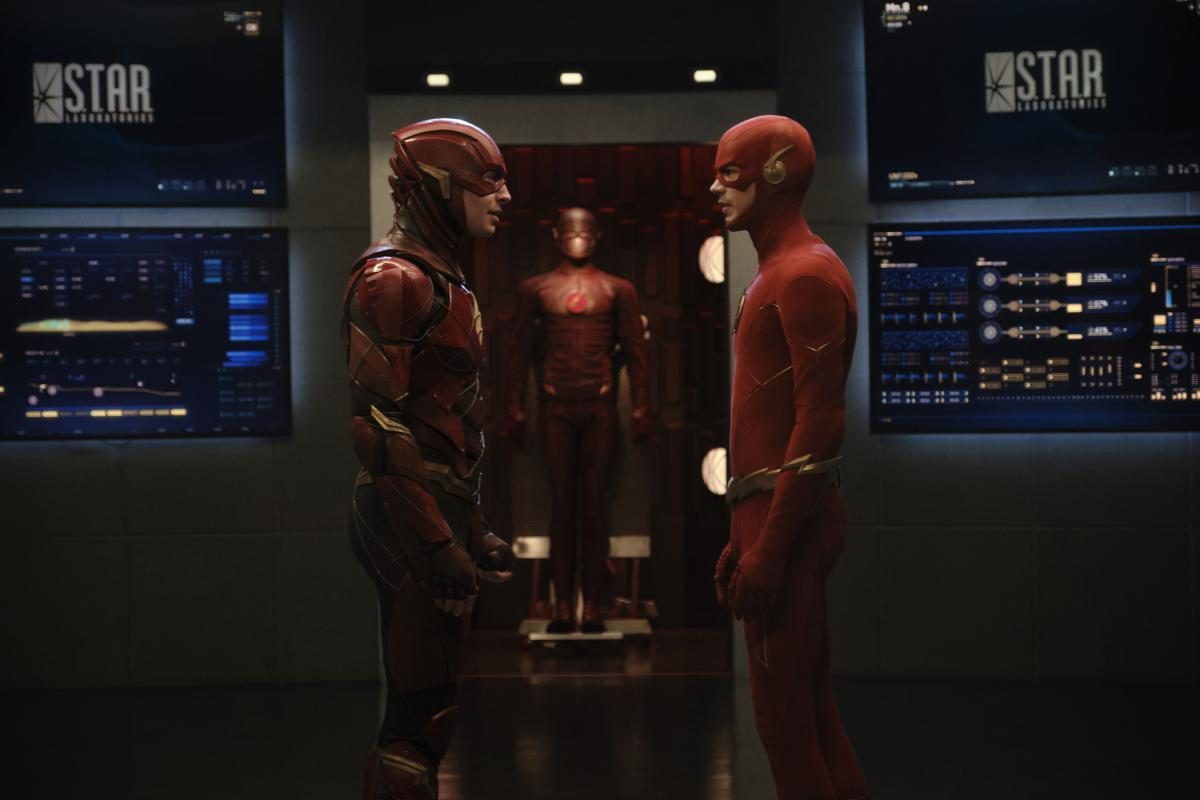 The Flash Crossover DCEU and Arroverse
