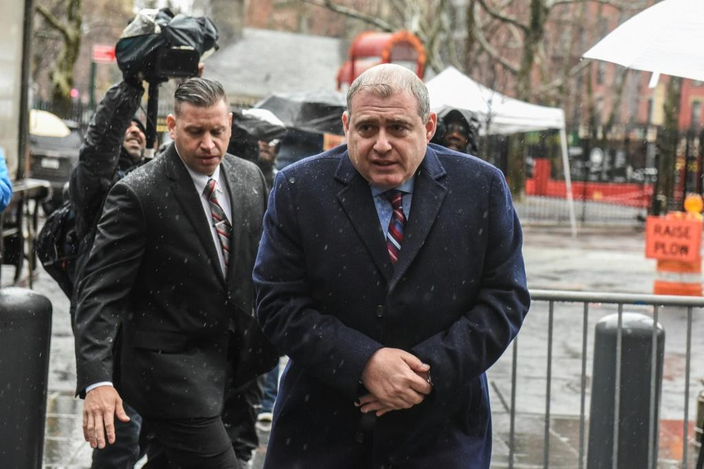Democrats released newly acquired files that showed Giuliani working with Lev Parnas (right) in 2019 to pressure Kiev to investigate Joe Biden