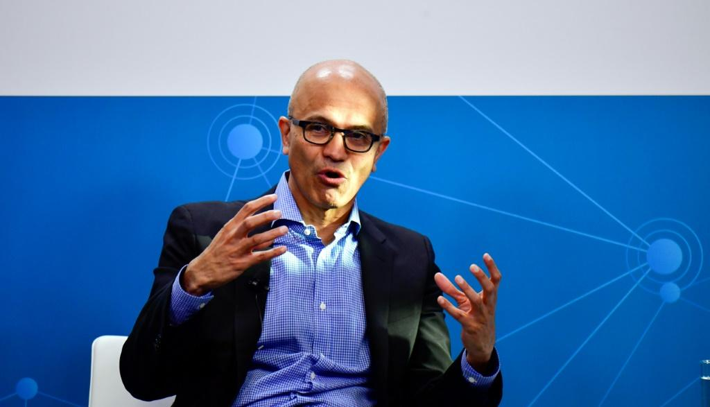 """Microsoft CEO Satya Nadella said the tech giant is ramping up its efforts to reduce emissions to address what he called an """"urgent"""" climate crisis"""