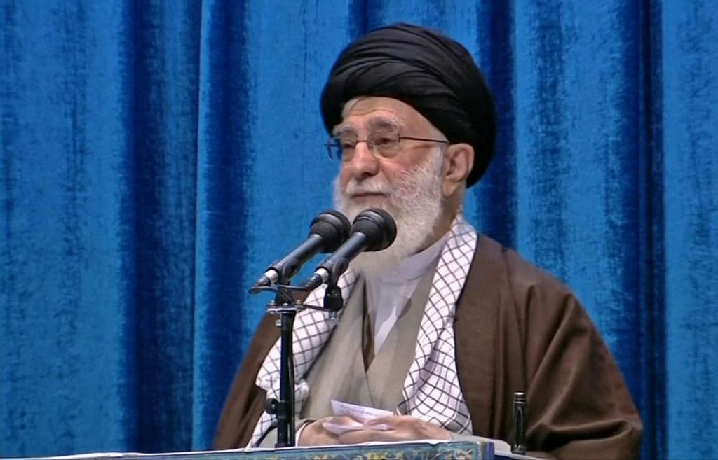 """Supreme leader Ayatollah Ali Khamenei has said Iran's deadly downing of a Ukrainian airliner was a """"bitter"""" accident as he led the main weekly Muslim prayers in Tehran for the first time since 2012"""