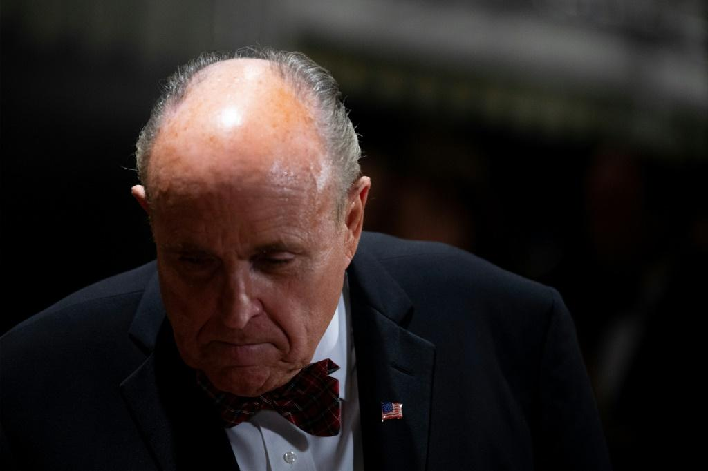 US President Donald Trump's personal lawyer Rudy Giuliani has been key in fomenting a conspiracy theory against Democratic presidential hopeful Joe Biden