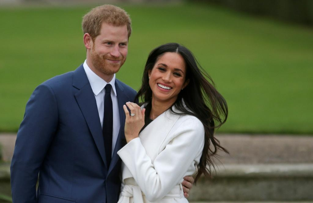 A royal goodbye: Britain's Prince Harry and his wife Meghan will give up their official titles