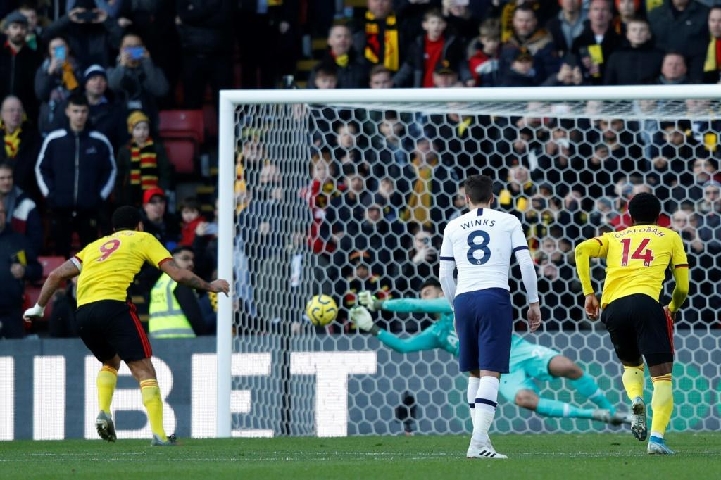 Spurs needed a second-half penalty save from Gazzaniga to take a point against Watford