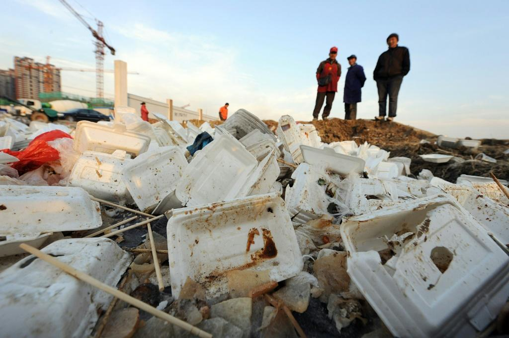 The new Chinese plan will ban the production and sale of disposable polystyrene and plastic tableware by the end of the year