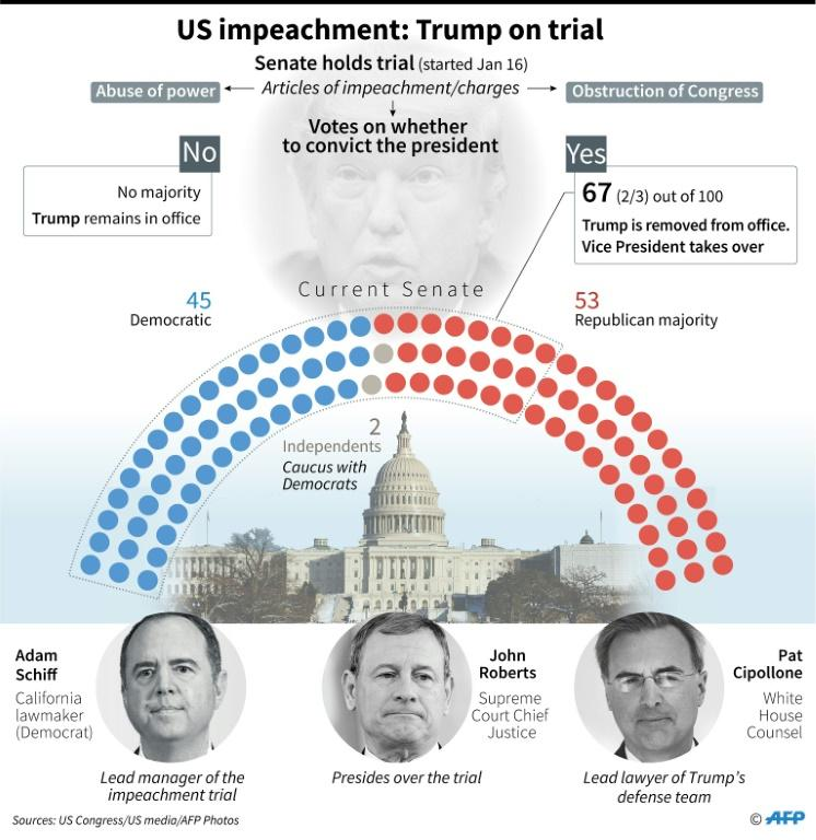 US impeachment: Trump on trial