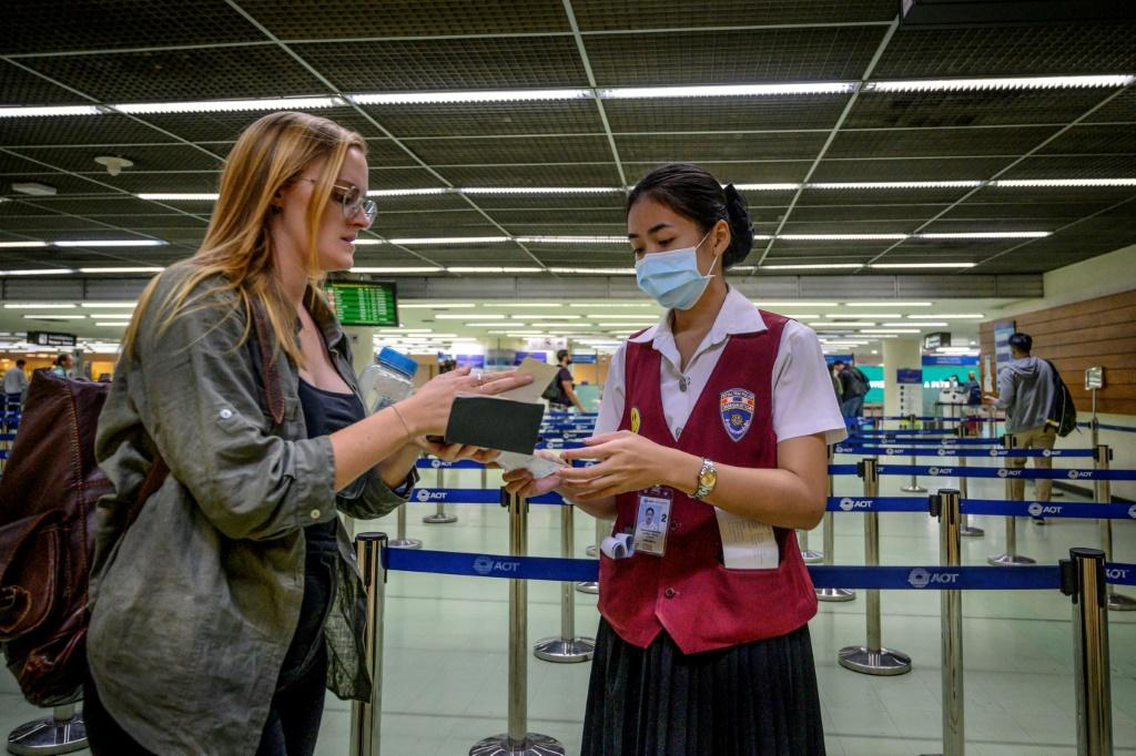 Airports around the world - including this one in Bangkok - are stepping up screening efforts