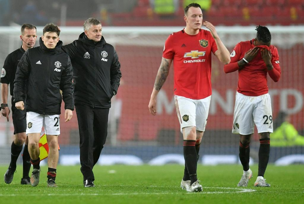 Manchester United manager Ole Gunnar Solskjaer and his players were booed off against Burnley