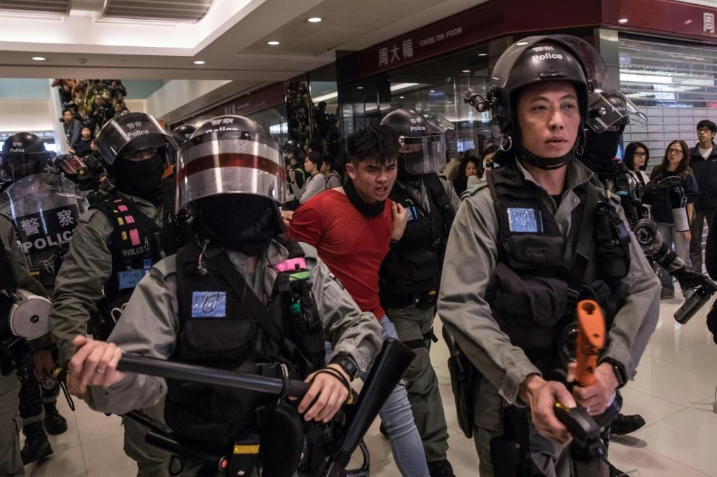 The arrival of a new Hong Kong police chief in November has heralded more robust tactics against protesters