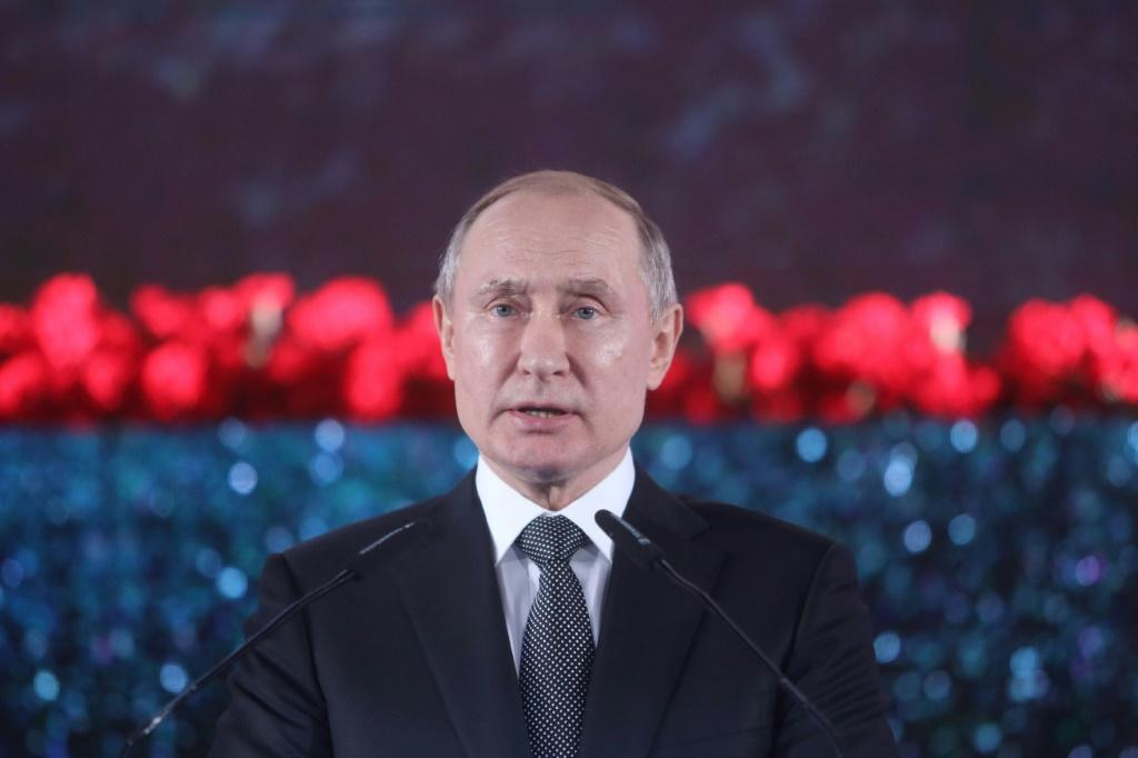 Putin has held power in Russia for two decades