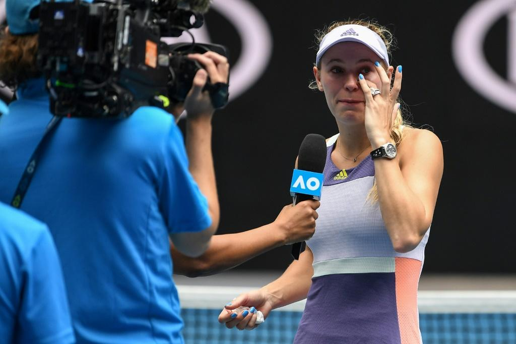Caroline Wozniacki suffered a career-ending defeat