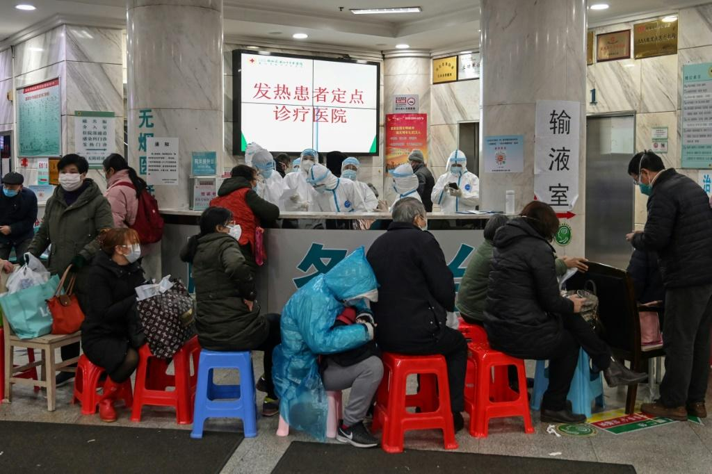 Chinese health authorities said the nationwide toll had jumped to 41 after 15 more people had died the day before in Wuhan, where the virus emerged