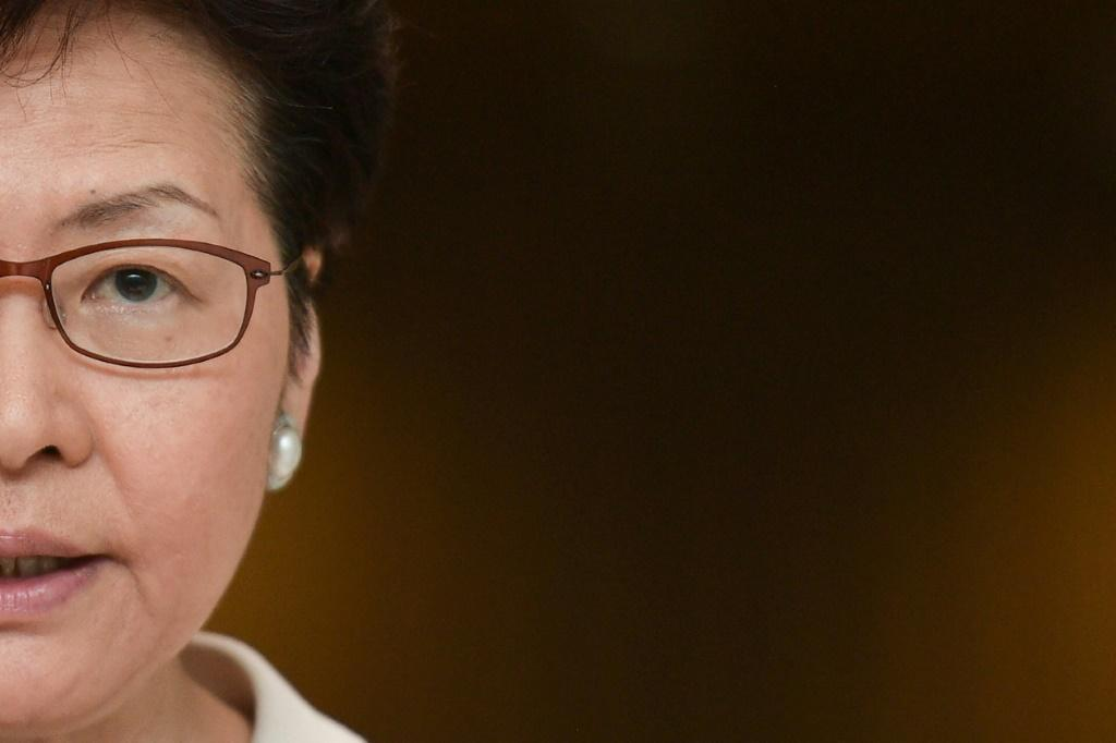Hong Kong Chief Executive Carrie Lam tried to convince the world's business elite that Hong Kong is still an attractive destination for investment during her visit to Davos