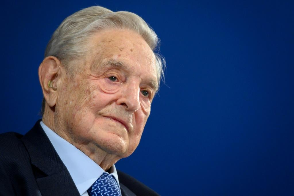 Philanthropist George Soros issued warnings -- notably on US and Chinese strongmen