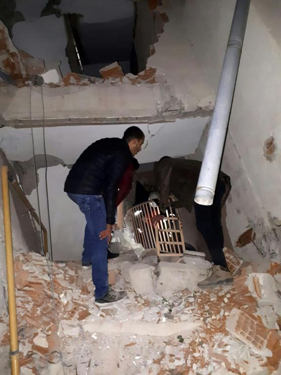 The quake in eastern Turkey caused several buildings to collapse