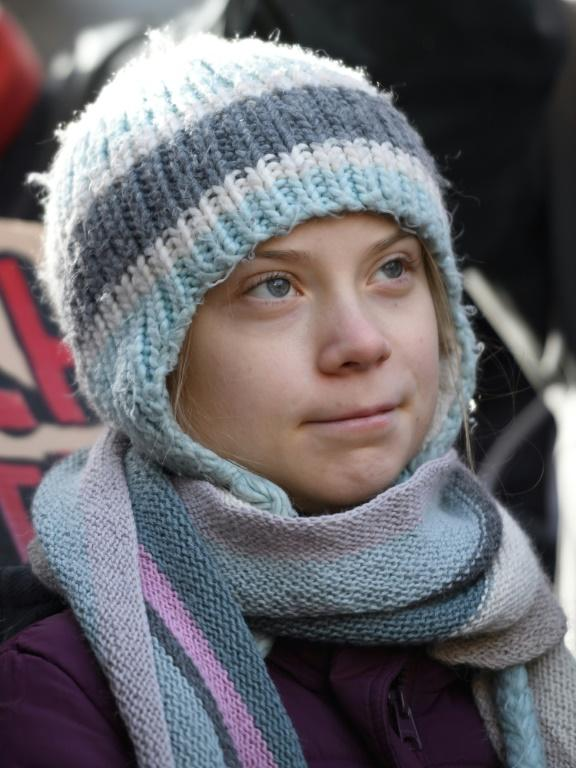 Thunberg, 17, emerged as one of the key figures of the Davos World Economic Forum this year
