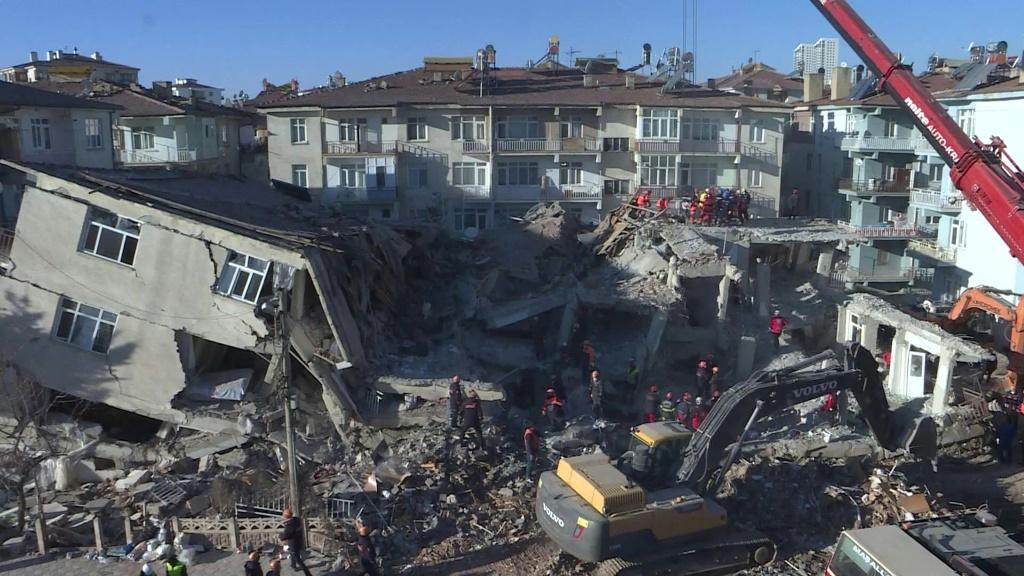 IMAGES The death toll from a powerful earthquake which struck eastern Turkey rose to 31, officials said Sunday, as rescue efforts continued. The magnitude 6.8 quake hit on Friday evening, with its epicentre in the small lakeside town of Sivrice in Elazig