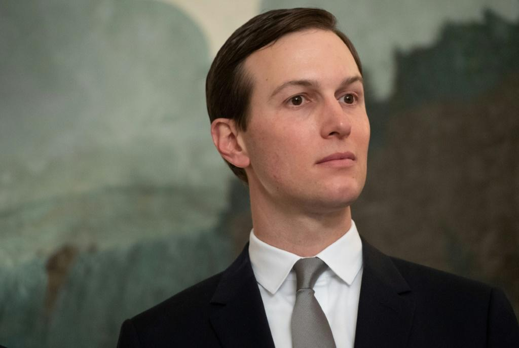 Jared Kushner, President Donald Trump's son-in-law and senior advisor, (pictured March 2019) has overseen the Mideast peace plan