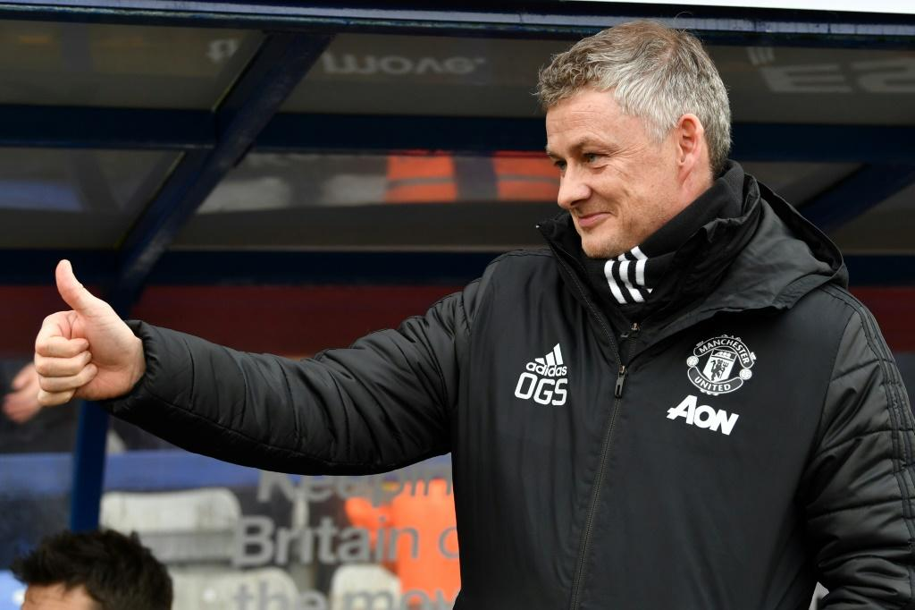 Job done: Manchester United's comfortable win at Tranmere was a welcome relief for Ole Gunnar Solskjaer