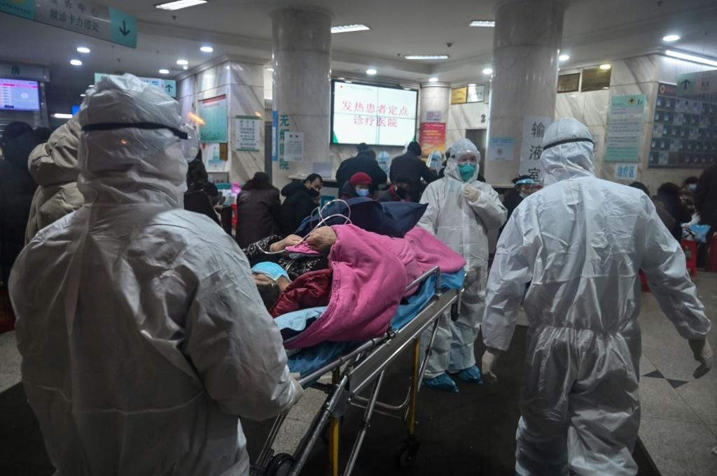 Medical facilities in Wuhan, the epicentre of the virus, have been overwhelmed