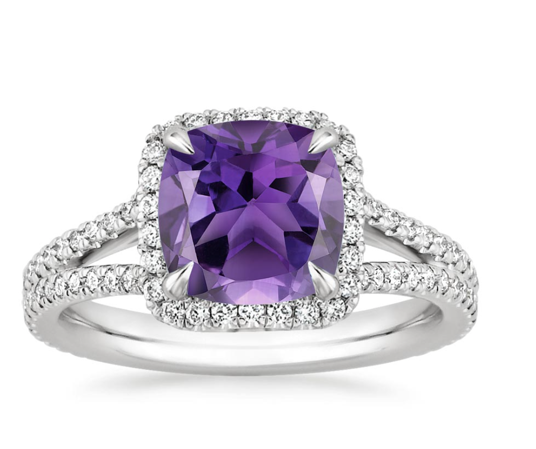 Amethyst Fortuna Ring (1/2 ct. tw.)
