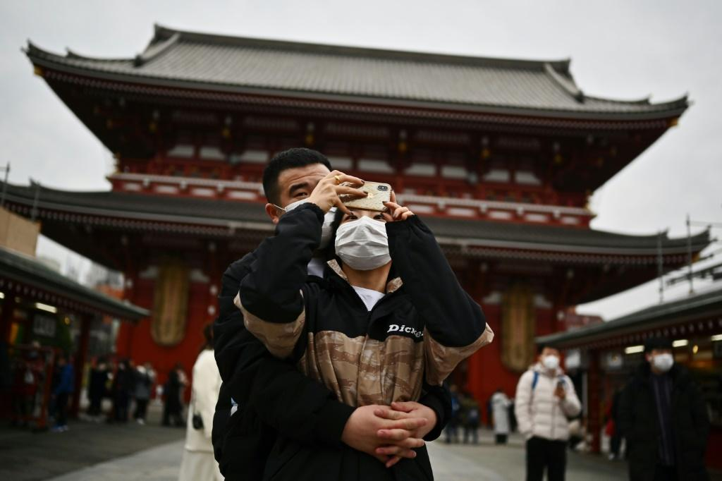 Chinese visitors make up 37 percent of all Japan's incoming tourists and the virus outbreak are likely to affect a number of local businesses