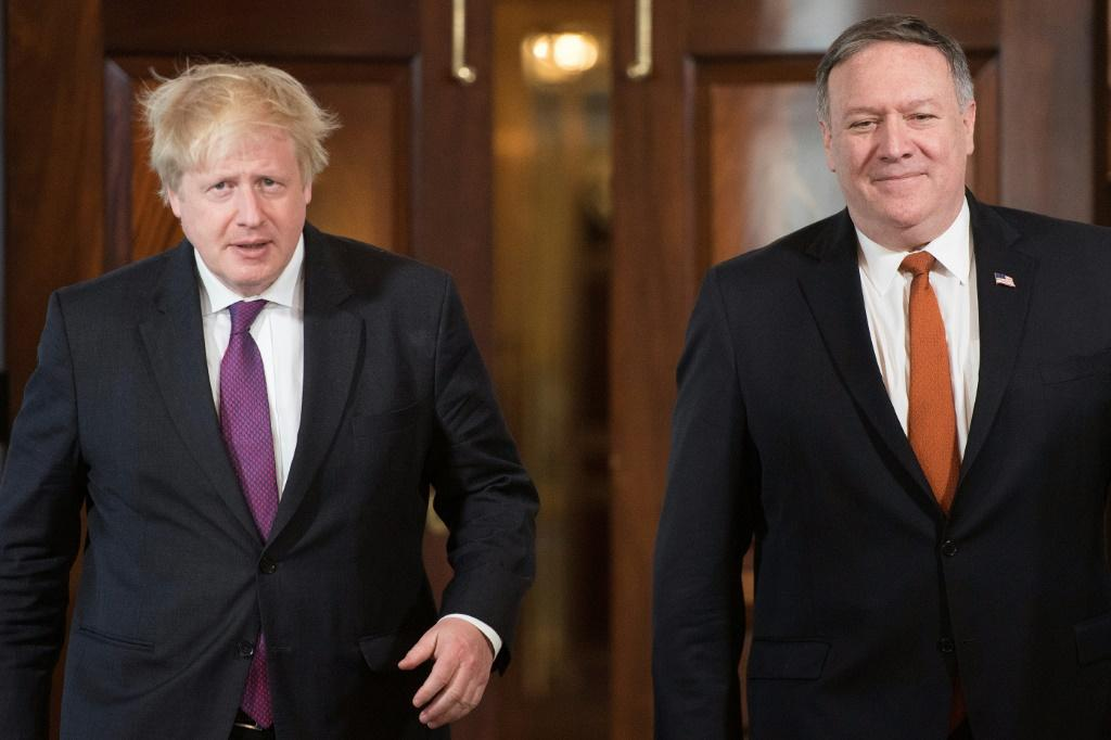 """US Secretary of State Mike Pompeo's meetings with British Prime Minister Boris Johnson threatens to become a damage limitation exercise for the """"special relationship"""