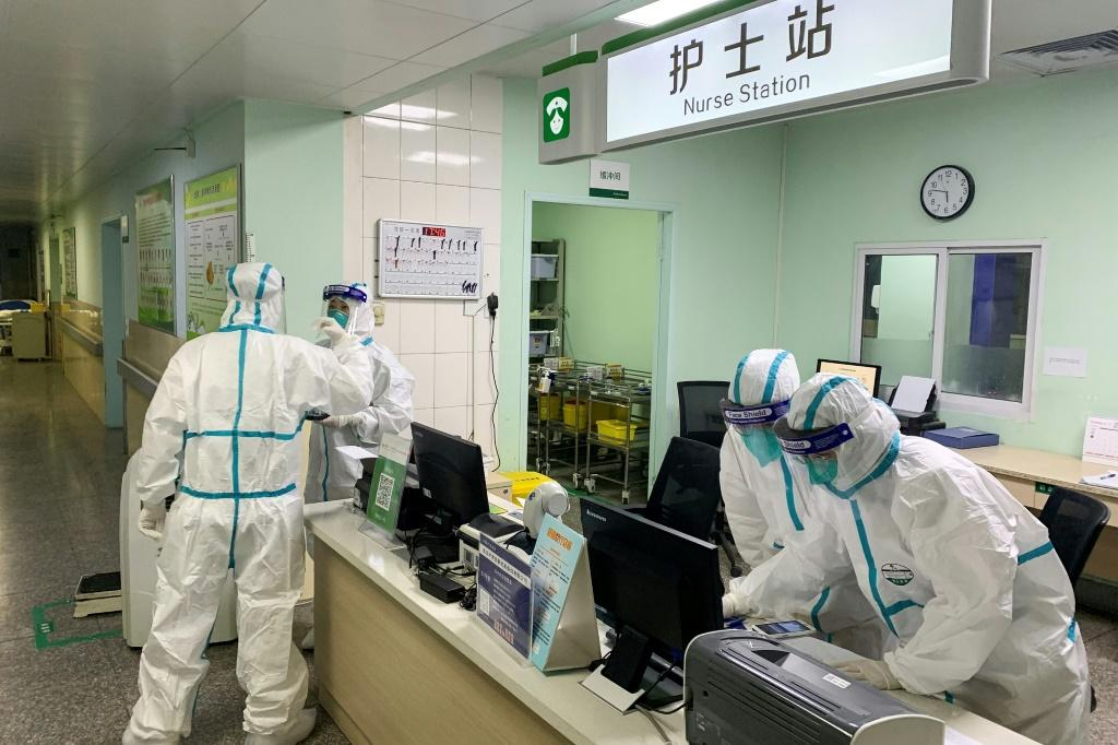 Medical staff in Wuhan, the epicentre of the outbreak