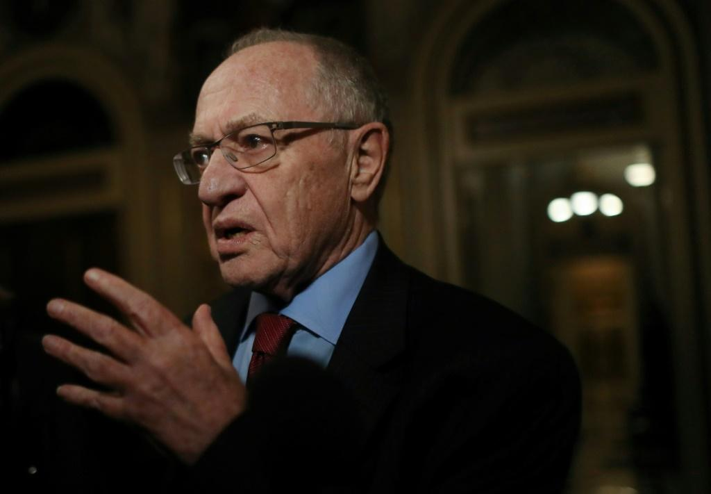 Harvard professor Alan Dershowitz, a member of President Donald Trump's legal team