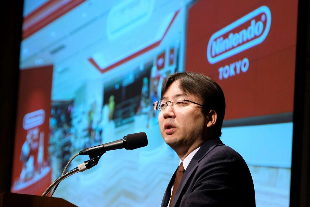 Nintendo won't be bringing out a new version of its wildly popular Switch device this year, the firm's president Shuntaro Furukawa said