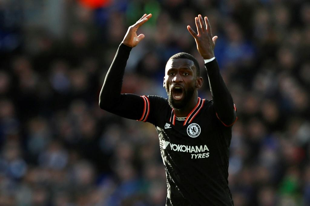 Antonio Rudiger scored twice to secure Chelsea a 2-2 draw at Leicester