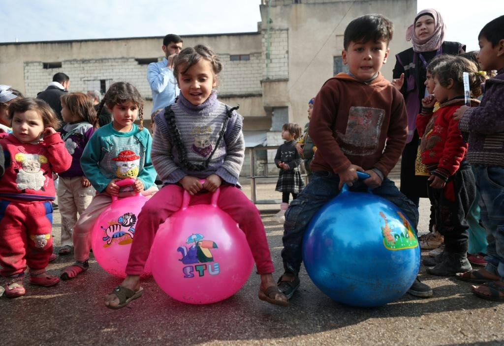 Since erupting in 2011, Syria's war has displaced over 5.1 million children