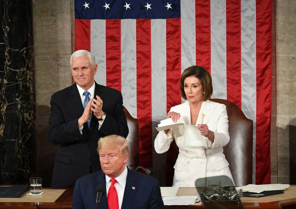 Mike Pence Donald Trump Nancy Pelosi State of the Union