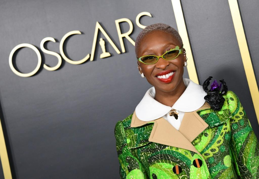 "British actress Cynthia Erivo is the only Oscar-nominated actress of color, for anti-slavery biopic ""Harriet"
