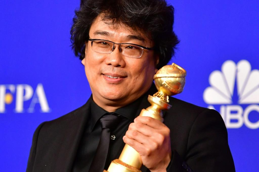 "South Korean filmmaker Bong Joon-ho, a Golden Globe winner for best foreign film for ""Parasite,"" has become a Hollywood darling during awards season and is well positioned for success at the Oscars"