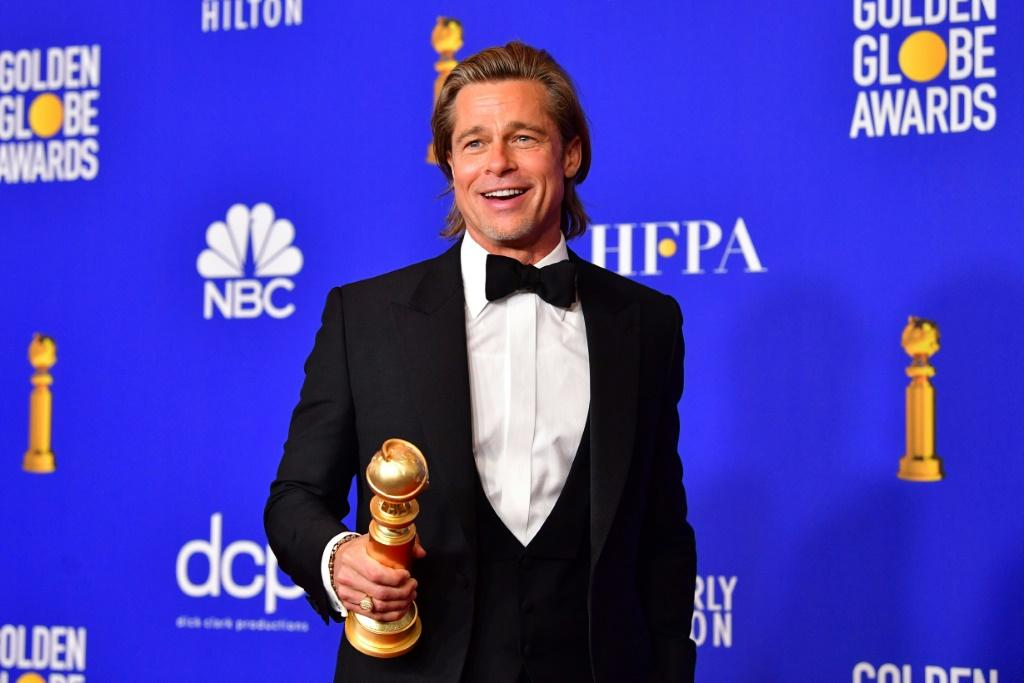 "The acting categories appear to be a lock for the Oscars, with Brad Pitt -- seen here with his Golden Globe -- expected to win for best supporting actor for ""Once Upon a Time... in Hollywood"
