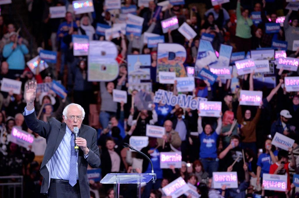 Bernie Sanders, a leftist whose state borders New Hampshire and who won there by a landslide in 2016, holds a firm poll lead ahead of the upcoming primary