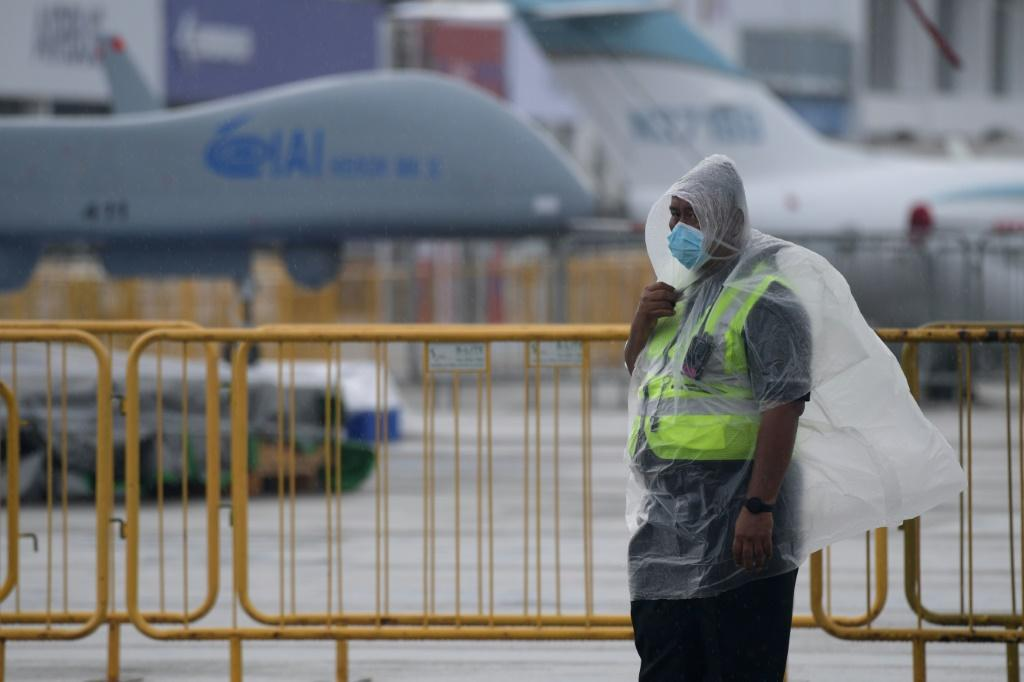 The Singapore Airshow has been hit hard by the coronavirus outbreak in China, with dozens of participants pulling out