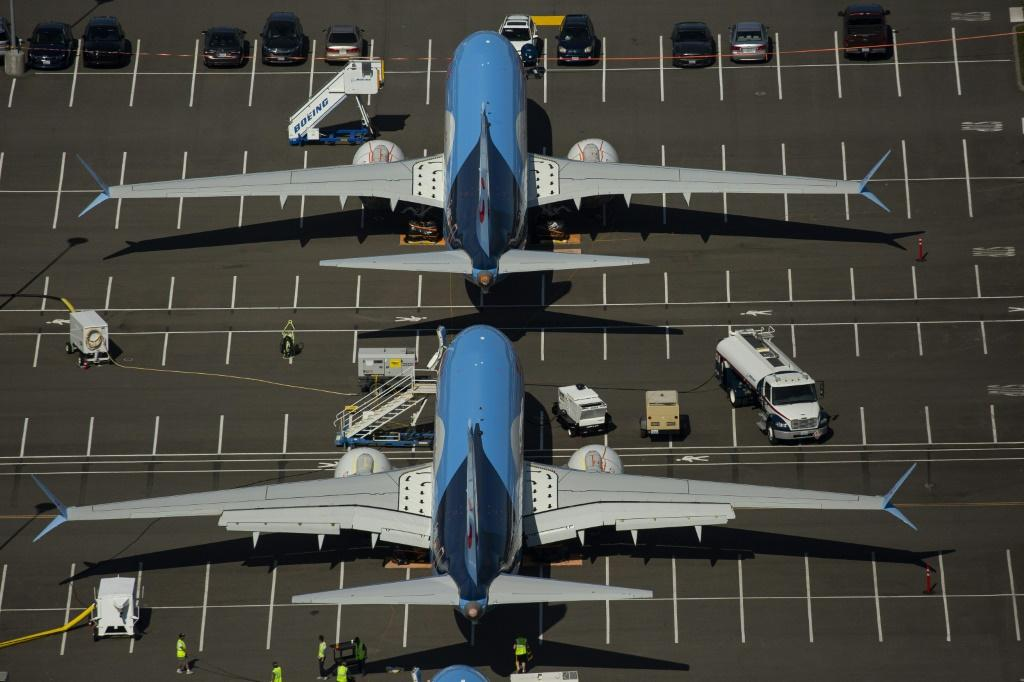 Boeing reported no new plane orders in January and a drop in jet deliveries as the protracted grounding of the 737 MAX continued to weigh on the company