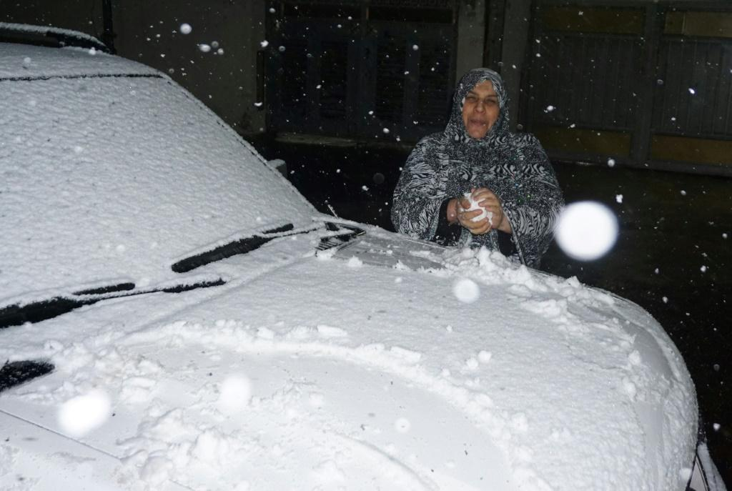 The only previous snowfall in Baghad in the past century was a short and mostly slushy affair in 2008. Tuesday's snowfall was more substantial