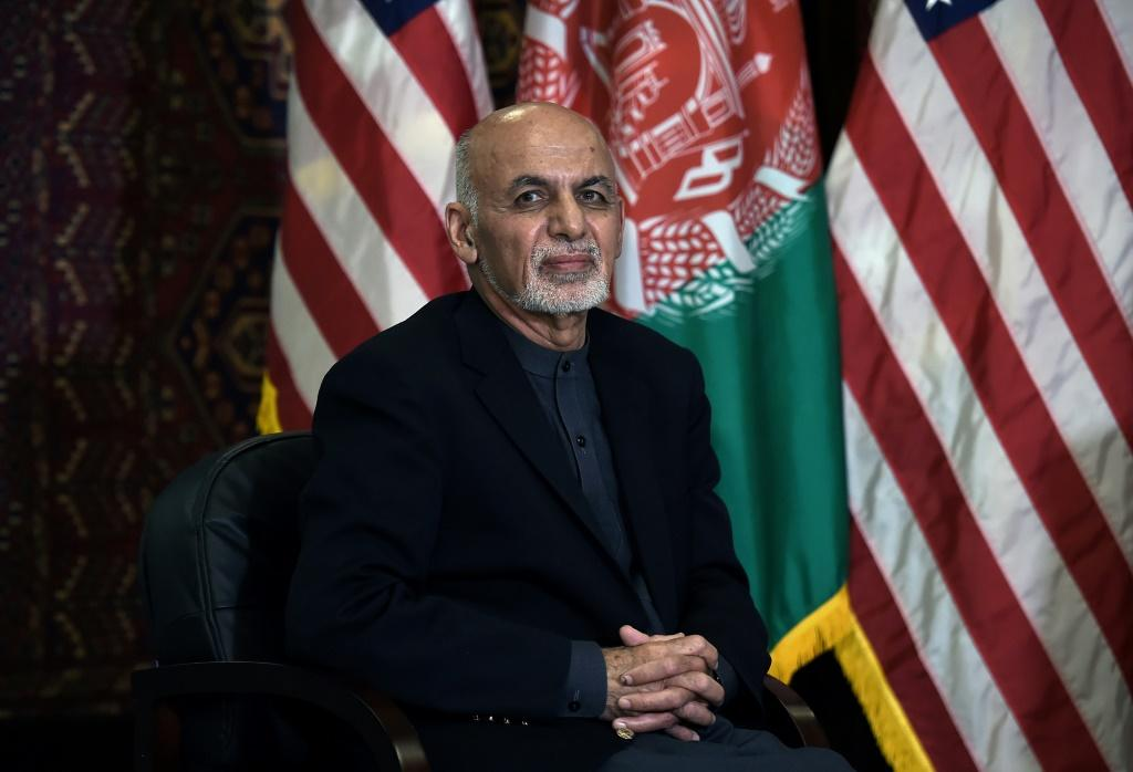 Afghan President Ashraf Ghani said there had been 'notable progress' in negotiations