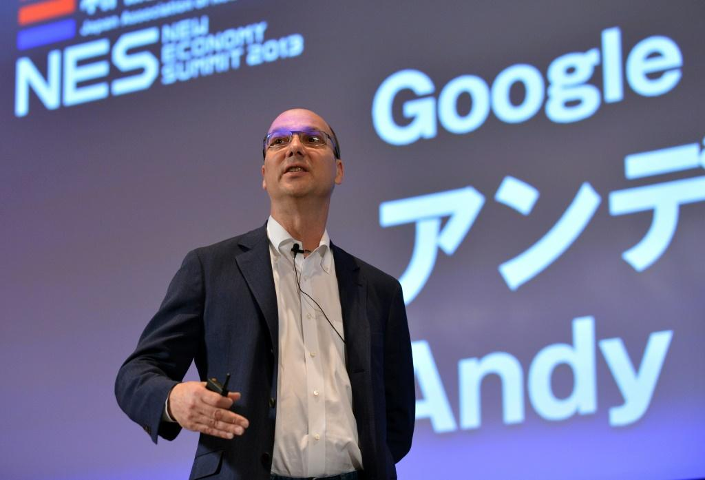 Andy Rubin -- seen here in Japan in 2013 during his tenure at Google -- founded smartphone startup Essential Products, but the company now says it's shutting down