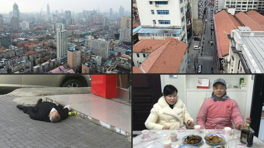 Wuhan, a central Chinese city of 11 million normally bustling with activity, has become a ghost town as residents stay in their homes - with normal life on hold
