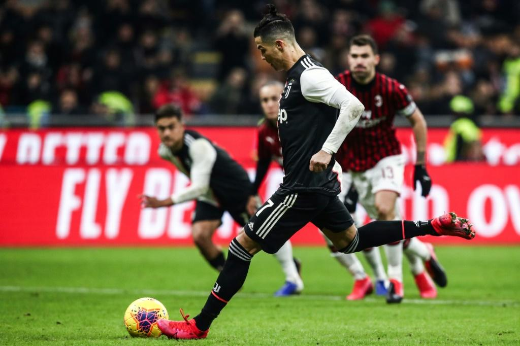 Ronaldo has scored 24 goals this season for Juventus