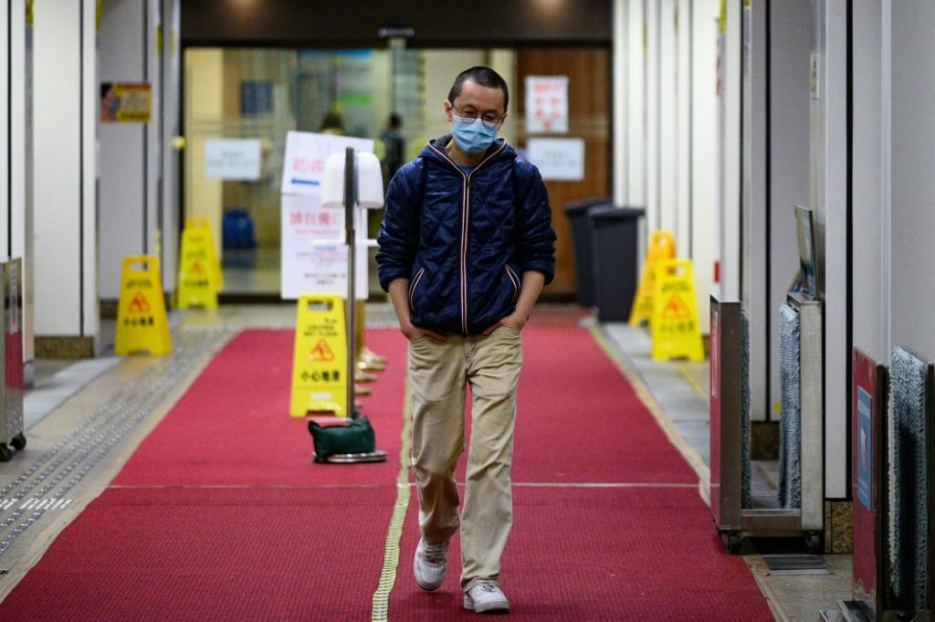 Alfred Wong works on the isolation ward at a Hong Kong hospital treating possible coronavirus patients and is desperate to avoid infecting his pregnant wife