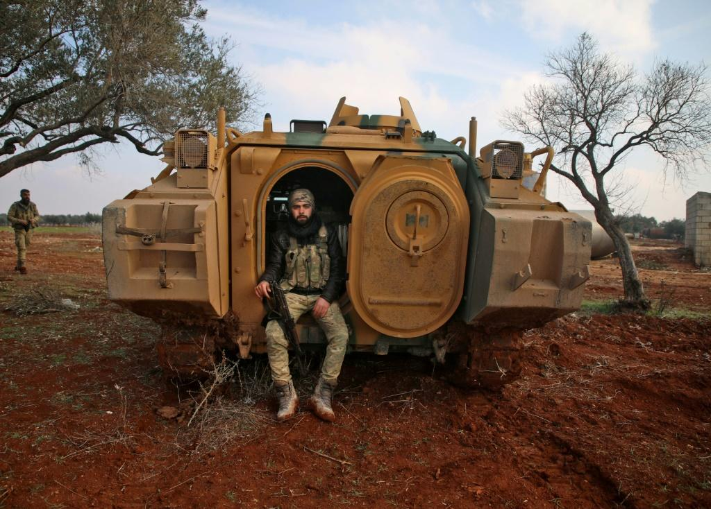 Turkey has backed Syrian rebels both against the regime in Idlib and against Kurds in the country's northeast